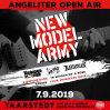 ANGELITER OPEN AIR MIT NEW MODEL ARMY • 07.09.2019, 11:00 • Taarstedt